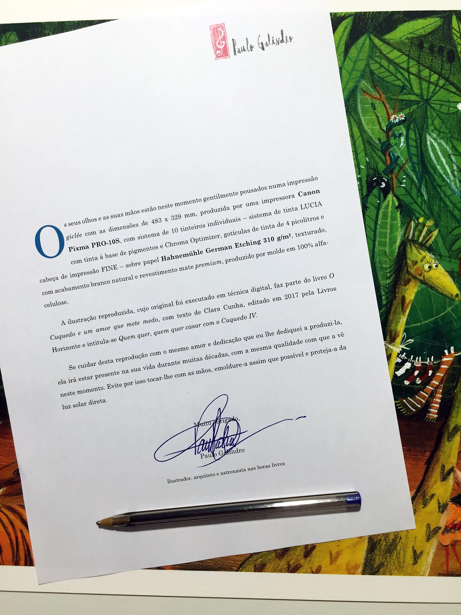 """Print Cuquedo2 - Impressões giclée de """"O Cuquedo e um Amor que mete Medo"""""""