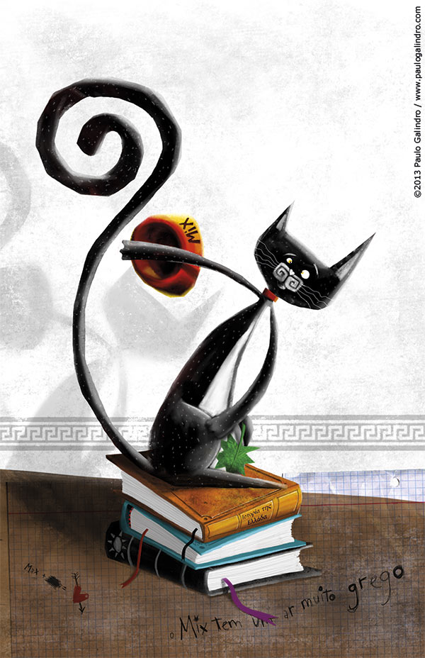 The story of a cat and the mouse that became his friend / Paulo Galindro