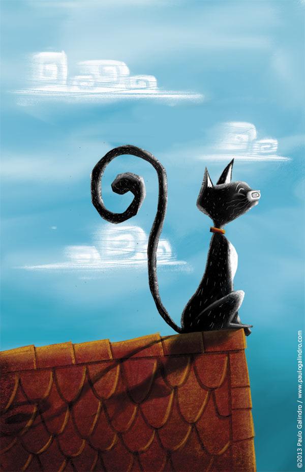 História de um gato e de um rato que se tornaram amigos / Paulo Galindro
