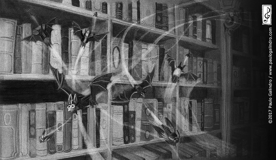 The librarian bat / Paulo Galindro