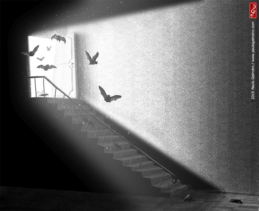 Uma noite caiu uma estrela / Paulo Galindro