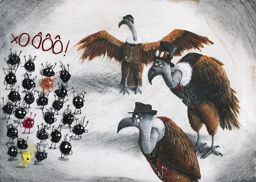 Cuquedo3 Spread011 PauloGalindro - O Cuquedo e os pequenos aprendizes do medo