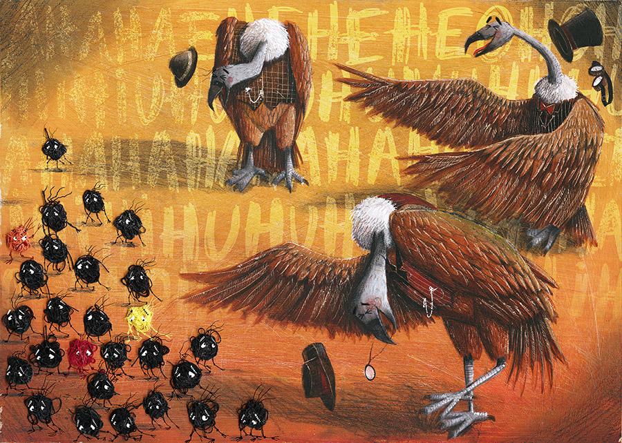 Cuquedo3 Spread012 PauloGalindro - O Cuquedo e os pequenos aprendizes do medo