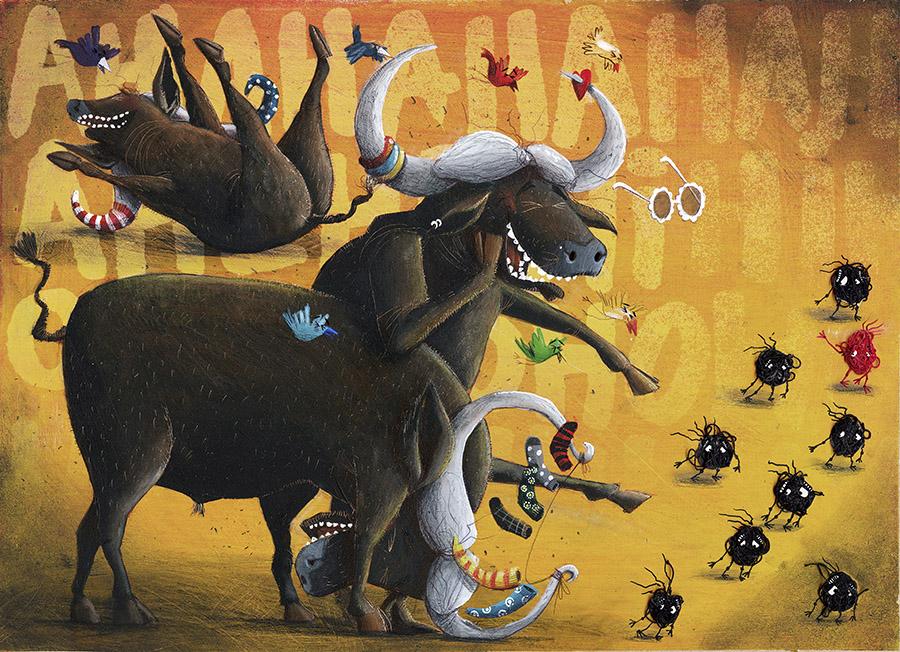 Cuquedo3 Spread09 PauloGalindro - O Cuquedo e os pequenos aprendizes do medo
