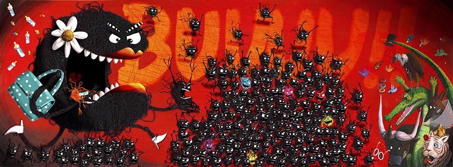 Cuquedo3 Spread17 PauloGalindro - O Cuquedo e os pequenos aprendizes do medo